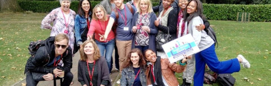 WGSA delegation warmly received at London Screenwriters' festival